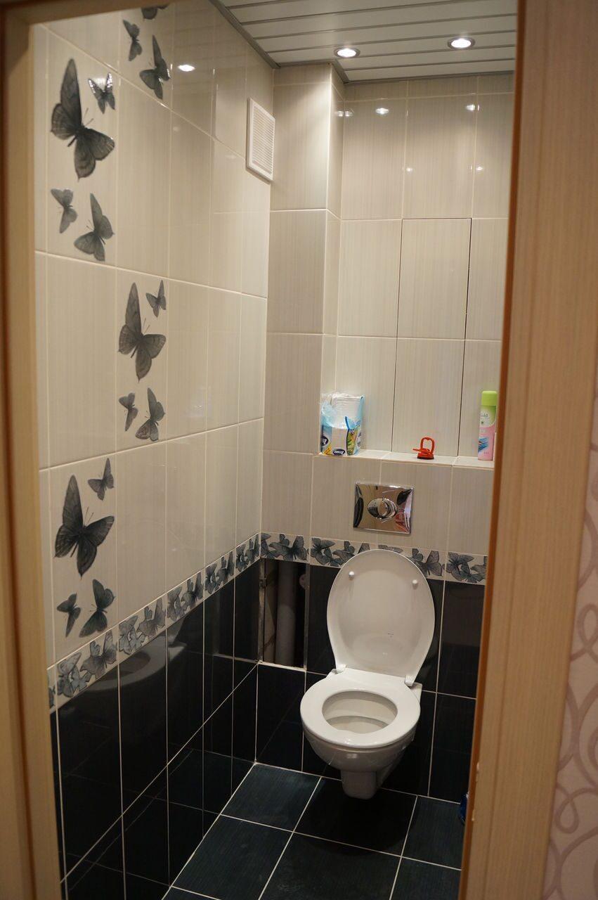 Ремонт в туалете и ванной плиткой